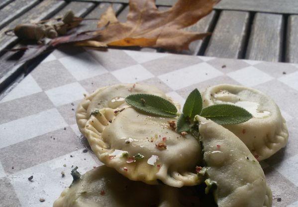 ravioli ricotta spinaci e feta