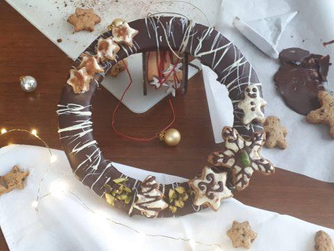 Ghirlanda biscotto